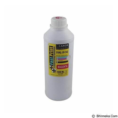 FASTPRINT Dye Based Anti UV Canon 1000ml - Magenta - Tinta Printer Refill