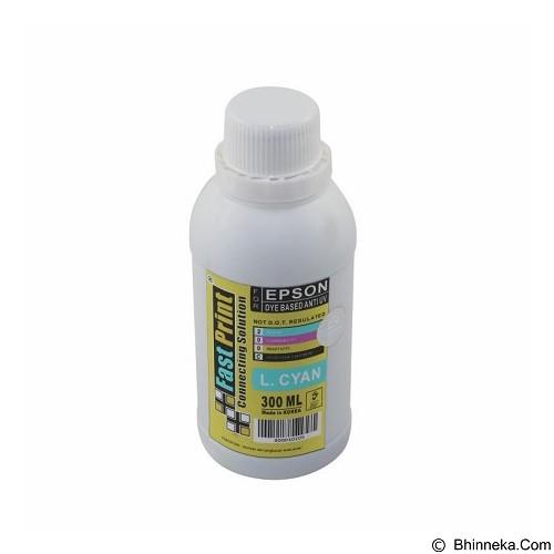 FASTPRINT Dye Based Anti UV Epson 300ml - Light Cyan - Tinta Printer Refill
