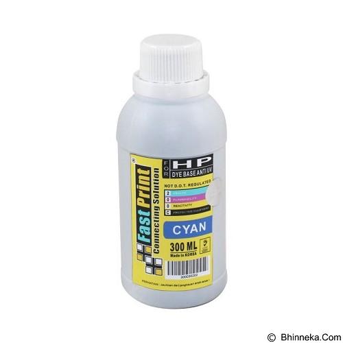 FASTPRINT Dye Based Anti UV HP 300ml - Cyan - Tinta Printer Refill