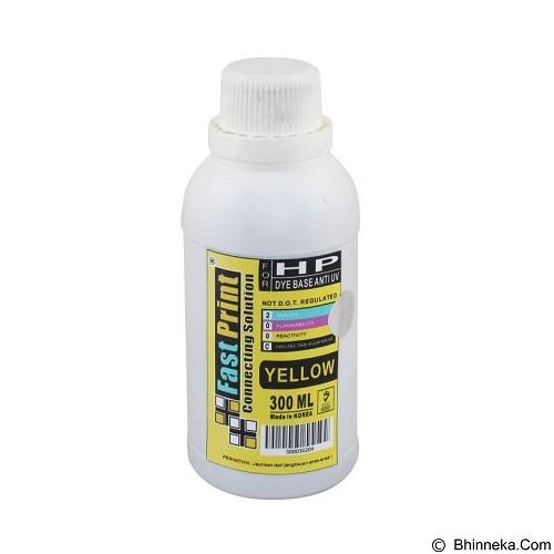 FASTPRINT Dye Based Anti UV HP 300ml - Yellow - Tinta Printer Refill