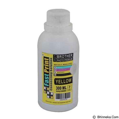 FASTPRINT Dye Based Photo Premium Brother 300ml - Yellow - Tinta Printer Refill