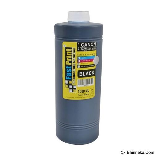 FASTPRINT Dye Based Photo Premium Canon 1000ml - Black - Tinta Printer Refill