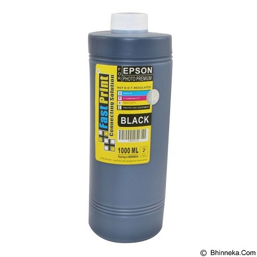 FASTPRINT Dye Based Photo Premium Epson 1000ml - Black - Tinta Printer Refill