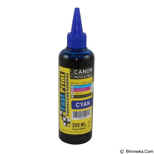 FASTPRINT Dye Based Photo Ultimate Canon 250ml - Cyan - Tinta Printer Refill
