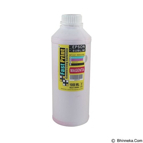 FASTPRINT Sublim Korea Epson 1000ml - Magenta - Tinta Printer Refill