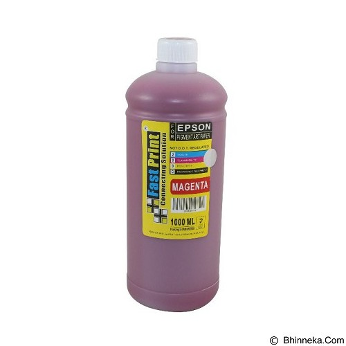 FASTPRINT Pigment Art Paper China Epson 1000ml - Magenta - Tinta Printer Refill