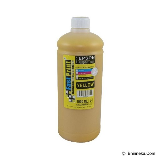 FASTPRINT Pigment Art Paper China Epson 1000ml - Yellow - Tinta Printer Refill