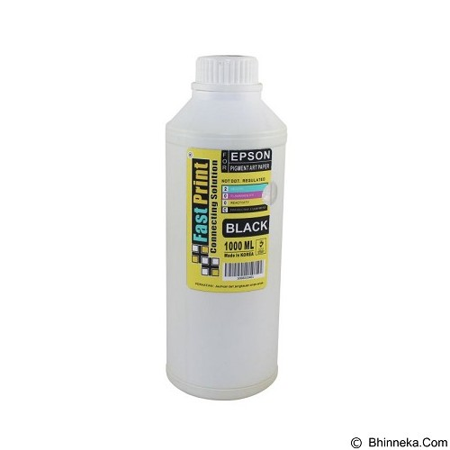FASTPRINT Pigment Art Paper Korea Epson 1000ml - Black - Tinta Printer Refill