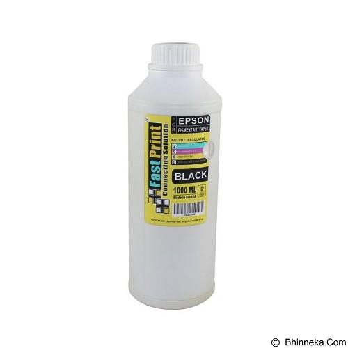FASTPRINT Pigment Art Paper Korea Epson 1000ml - Black - Tinta Printer Refill