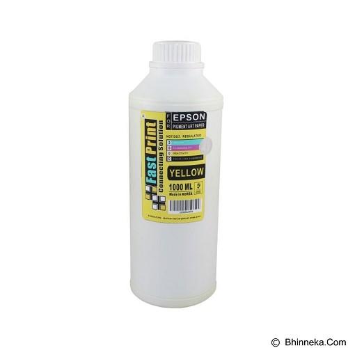 FASTPRINT Pigment Art Paper Korea Epson 1000ml - Yellow - Tinta Printer Refill