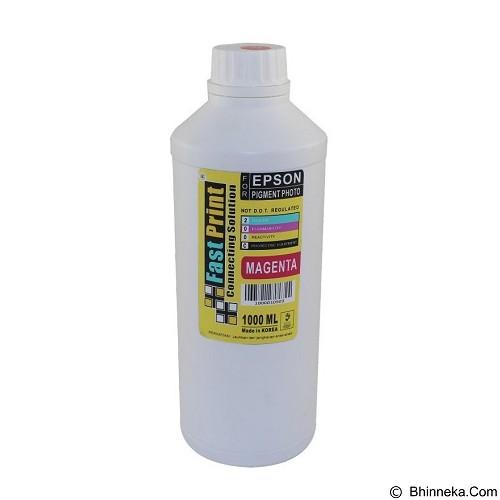 FASTPRINT Pigment Photo Premium Korea Epson 1000ml - Magenta - Tinta Printer Refill