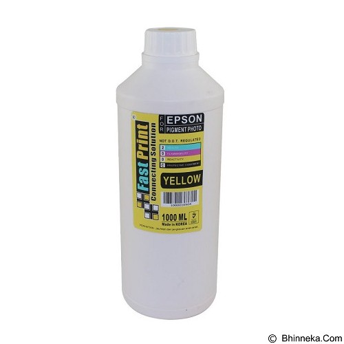 FASTPRINT Pigment Photo Premium Korea Epson 1000ml - Yellow - Tinta Printer Refill