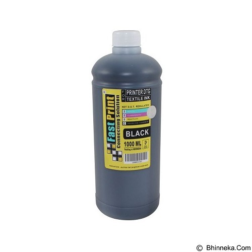 FASTPRINT Textile DTG 1000ml - Black - Tinta Printer Refill