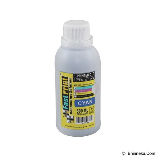 FASTPRINT Textile DTG 300ml - Cyan - Tinta Printer Refill