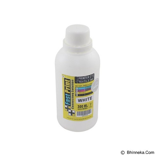 FASTPRINT Textile DTG 300ml - White - Tinta Printer Refill