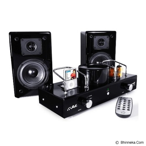 FATMAN Carbon MkII with Speakers - Speaker With Docking
