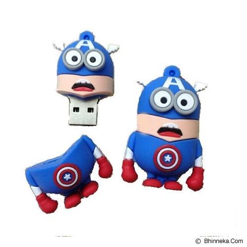 FAVOURITE Flashdisk Minion Captain America Series 32GB - Usb Flash Disk Basic 2.0