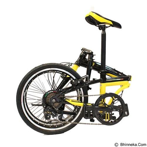 FERRARI Folding Bike 20 [AL-FDB207] - Black (Merchant) - Sepeda Lipat / Folding Bike
