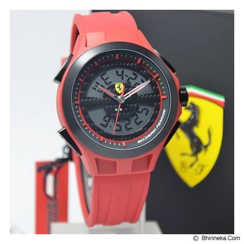 FERRARI Watch [0830019] - Red - Jam Tangan Pria Fashion