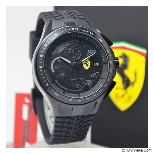 FERRARI Watch [0830105] - Black - Jam Tangan Pria Fashion