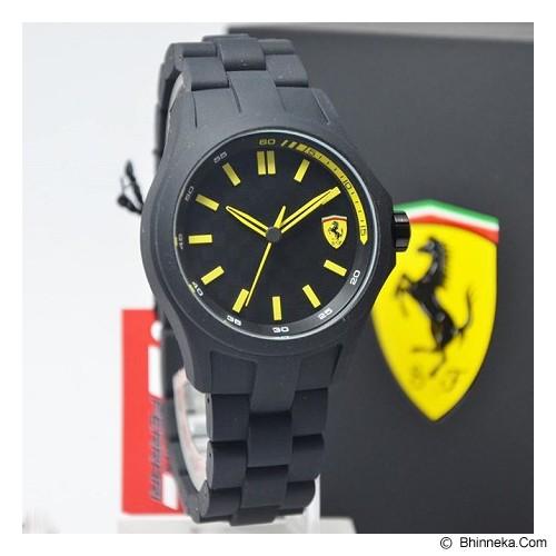 FERRARI Watch [0830156] - Black - Jam Tangan Pria Fashion