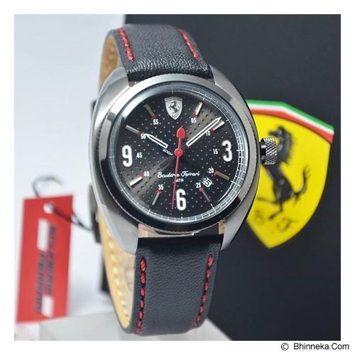 FERRARI Watch [0830207] - Black - Jam Tangan Pria Fashion