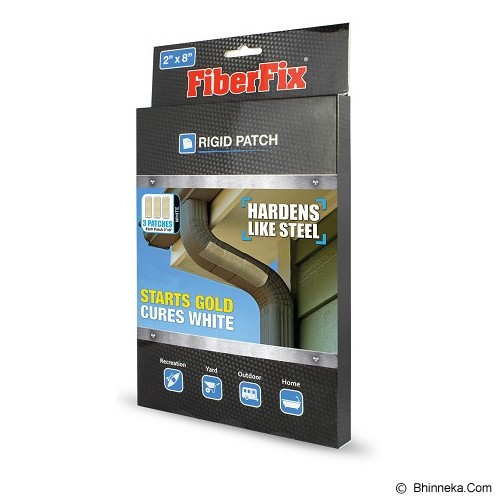 FIBERFIX Rigid Patch 2x8 Inch [SM480] - 3 Patches - Isolasi / Solatip
