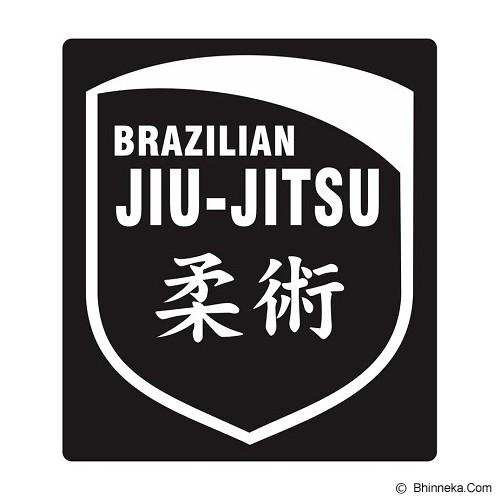 FIGHTERSTOWN Cutting Sticker Brazilian Jiujitsu Shield - Organizer Mobil