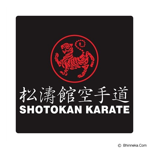 FIGHTERSTOWN Cutting Sticker Martial Arts Shotokan Karate Short - Organizer Mobil