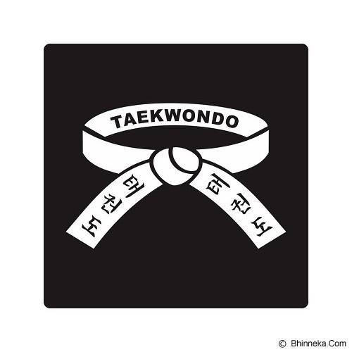 FIGHTERSTOWN Cutting Sticker Martial Arts Taekwondo Belt - Organizer Mobil
