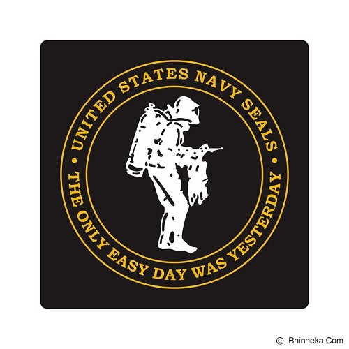 FIGHTERSTOWN Cutting Sticker U.S. Navy Seals Diver Three Colors - Organizer Mobil