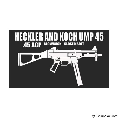 FIGHTERSTOWN Fighterstown Cutting Sticker Heckler & Koch UMP 45 - Organizer Mobil