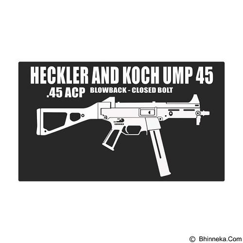 FIGHTERSTOWN Fighterstown Cutting Sticker Heckler & Koch UMP 45 - Organizer Mobil