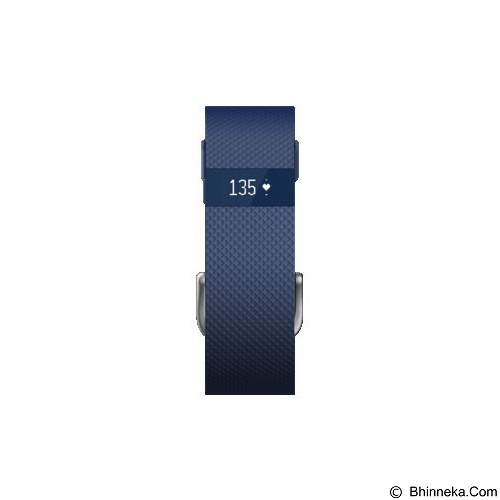 FITBIT Charge HR size L - Blue - Activity Trackers