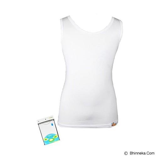 FLY KIDS Basic Kids Comfort Size M [FK 3064] - White - Jumper Bepergian/Pesta Bayi dan Anak