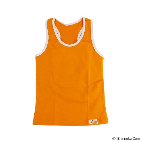FLY KIDS Racer Back Tank Top Boys Size S [FKA 711] - Orange - Jumper Bepergian/Pesta Bayi dan Anak