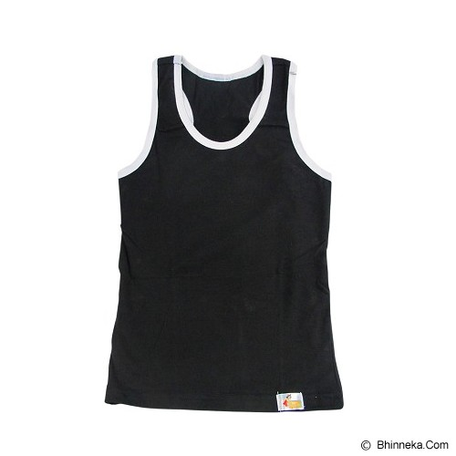 FLY KIDS Racer Back Tank Top Boys Size XL [FKA 711] - Black - Jumper Bepergian/Pesta Bayi dan Anak