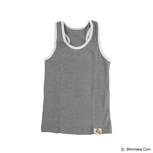 FLY KIDS Racer Back Tank Top Boys Size XL [FKA 711] - Grey - Jumper Bepergian/Pesta Bayi dan Anak