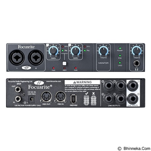 FOCUSRITE Saffire Pro 14 - Audio Interface