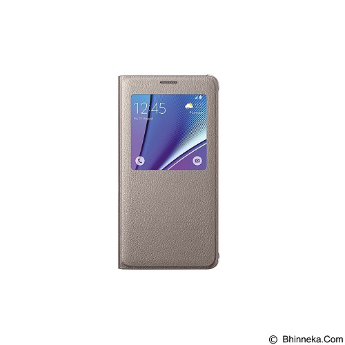 FOLIO Cover Vivo Y21 - Gold (Merchant) - Casing Handphone / Case