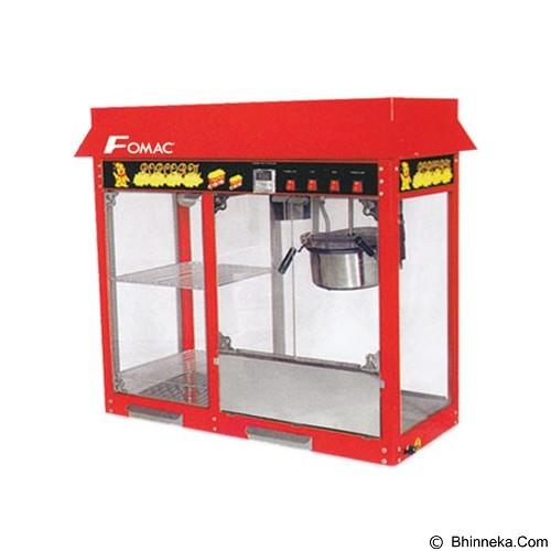 FOMAC Popcorn Machine with Warming Showcase [POC-POP6AD] - Popcorn Maker