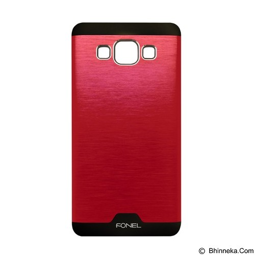 FONEL Alumunium Back Cover for Samsung Galaxy A5 - Red (Merchant) - Casing Handphone / Case
