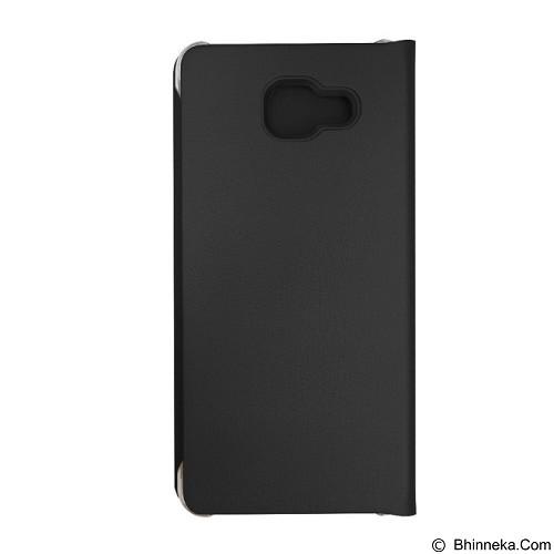 FONEL Simple Flip Wallet for Samsung Galaxy A310 - Black (Merchant) - Casing Handphone / Case