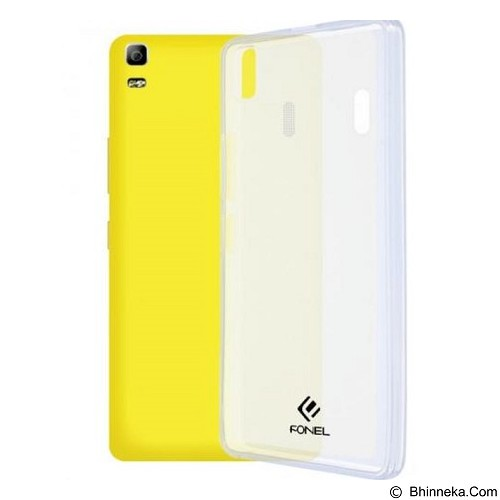 FONEL Soft Back Cover for Lenovo A7000 - Transparent (Merchant) - Casing Handphone / Case