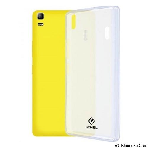 FONEL Soft Back Cover for Lenovo A7000 - Transparent (Merchant) - Casing Handphone / Case