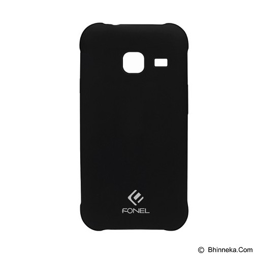 FONEL Soft Case for Samsung Galaxy J1 (2016) - Dove Black (Merchant) - Casing Handphone / Case