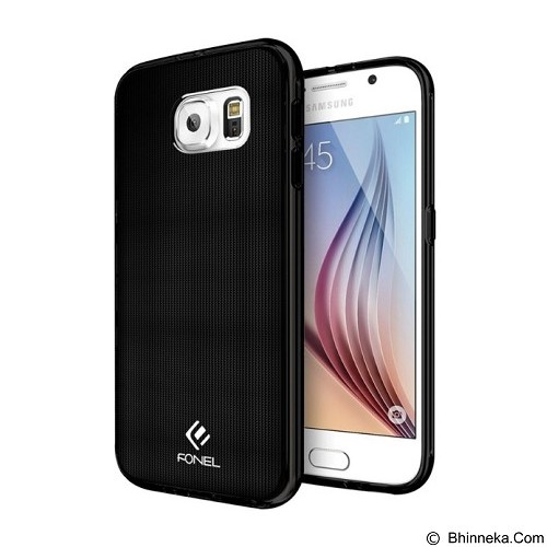 FONEL Solid Supreme Case for Samsung Galaxy S6 - Black (Merchant) - Casing Handphone / Case