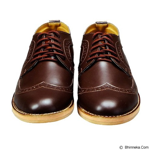 FOOTSTEP Cosmo Size 40 - Dark Brown - Casual Boots Pria