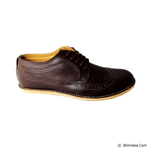 FOOTSTEP Cosmo Size 41 - Dark Brown - Casual Boots Pria