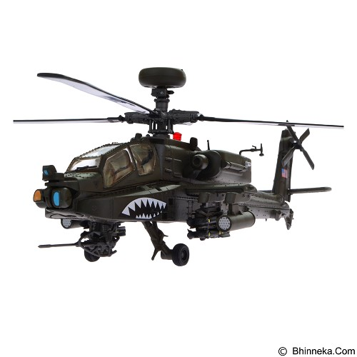 FORCES OF VALOR U.S. AH 64D Apache Diecast Helikopter Tempur [84006] (Merchant) - Die Cast